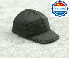 "1/6 Scale Black Cap Hat For 12"" Hot Toys Phicen Kumik Female Male Figure ❶USA❶"