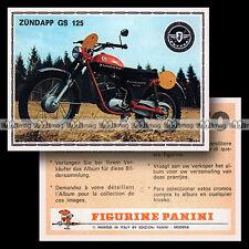 #pnsm75.185 ★ ZÜNDAPP GS 125 ★ Motorcycle Panini Super Moto 75