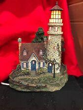 """Thomas Kinkade """" Guiding Point Lighthouse�"""