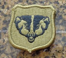 ARMY PATCH, ARMY NATIONAL GUARD HQS, WISCONSIN  ,MULTI-CAM,SCORPION, WITH VELCR