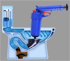 Air Pump Blaster Toilet Sink Clog Remover Plunger Dredging Tool