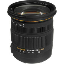 Sigma 17-50mm f/2.8 EX DC OS HSM Zoom Lens for Canon DSLRs BRAND NEW