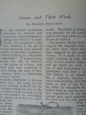 Divers Sea Diving Helmet Equipment Fleuss Apparatus Rare Old Antique 1895 Gorman