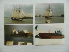 LOT 30 Photos Voilier Bateau Péniche Boat cargo RAILWAY TRAIN AGFA avec Négatif