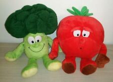 Vitamine Coop Brocoli + Tomate Peluche Superfeschi Lidl Goodness Gang Plush