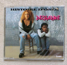 "CD AUDIO INT/ DECHARME ""HISTOIRE D'OSER"" CD MAXI PROMO 1995 BLACK MACHINE NEUF"