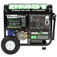 Dual Fuel Portable Generator 20 Hrs Propane 10 Hrs Gasoline Heavy Duty Frame