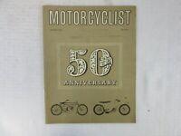 MOTORCYCLIST MOTORCYCLE MAGAZINE, JANUARY 1962