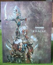 Warhammer fin de los tiempos-Khaine Suplemento Libro (ref 1) - Excelentes Con Publica Gratis!