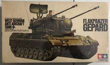Tamiya Flakpanzer Gepard West German Anti Aircraft Tank 1/35 Factory Sealed