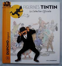 Livret TINTIN BD fascicule Dupont Dupond Engoncé figurine Hergé livre n°4
