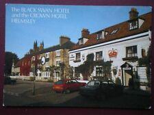 POSTCARD YORKSHIRE HELMSLEY - THE BLACK SWAN HOTEL & CROWN HOTEL