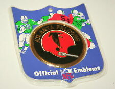 Vintage Rare Atlanta Falcons NFL Football Official Emblems Brass 1970 NOS New