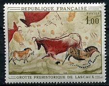 STAMP / TIMBRE FRANCE NEUF LUXE ** N° 1555 ** TABLEAU ART / GROTTE DE LASCAUX