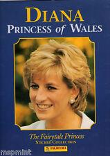 Princess Diana FAIRYTALE PRINCESS STICKER BOOK & STARTER SET STICKERS 1997 RARE