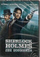 "DVD ""SHERLOCK HOLMES 2 - JEU D'OMBRES"" Robert DOWNEY Jr, Jude LAW neuf"