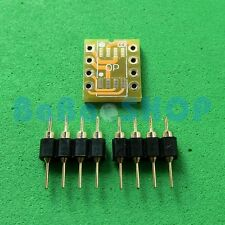 10pcs Dual SOIC8 SOP8 to DIP8 Adapter PCB Board+ PIN Mono Opamp OPA627 AD797