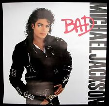 Michael Jackson Bad 1987 Us Original Promo Only Poster Minty !