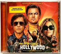 Once Upon a Time in Hollywood Original Movie Soundtrack CD [New Sealed] C.D.