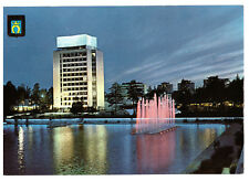 Tapio Square by Night Tapiola, Hagalund, Finland Postcard Posted 28th May 1973
