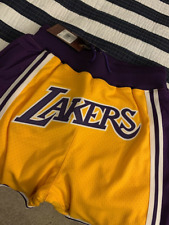 Just Don Mitchell & Ness Los Angeles Lakers 1996 - 1997 SIZE L Shorts