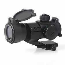 4 MOA Red and Green Dot Sight Scope Tactical Reflex Stinger Fit 20mm Weaver Rail