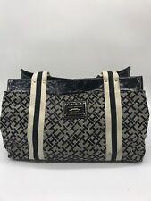 Tommy Hilfiger Handbag - TH Pattern with White Stripe