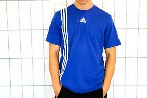 adidas T-Shirt Gr. M blau Shirt Training 2010 used Look EP1