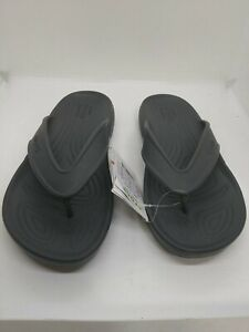 Crocs Classic II Flip Flops Gray Size M-7, W-9