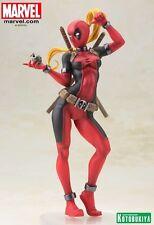 Marvel Comics ~ LADY DEADPOOL BISHOUJO STATUE ~ X-Men Kotobukiya Koto