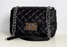 MICHAEL KORS Damen Tasche LG CHAIN SHLDR Leder Modell: SLOAN schwarz