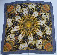 foulard erve jacques pura seta 100% silk original made in italy handmande vintag