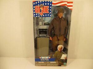 "GI Joe Ernie Pyle WWII US War Correspondent 12"" figure Pulitzer Prize"