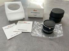 Leica Apo Extender-r 2x 11262 Matching Numbers!