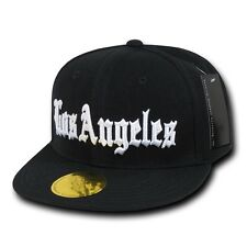 d9858372 Old English City Logo Campton Inglewood LA Snapback Flat Bill Baseball Caps  Hats