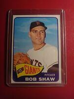 1965 Topps #428 Bob Shaw Giants NrMt NM (crease)
