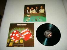 Bad Company --- ORIGINALE 1975 Straight Shooter LP!!!