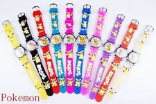 Wholesale 15pcs Cartoon Bird Children Boys girls Learn time 3D Sport watches H6
