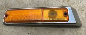 Jeep J 20 Side Marker Light lens and Base Front Driver side