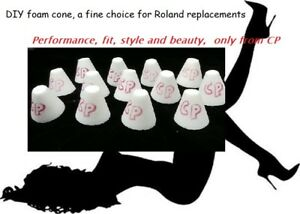 5 pak, Roland replacement e-drum trigger cones, by Convertible Percussions
