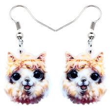 Acrylic Cute Alpaca Llama Earrings Dangle Fashion Animal Jewelry For Women Gifts