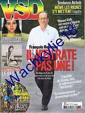 VSD n°1977 du 16/07/2015 Hollande Calendrier Pirelli Musée Gardner