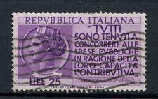 ITALIA 1954 SG # 965 incoraggiamento ai contribuenti utilizzato #A 40127