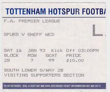 Tottenham Hotspur Football Tickets & Stubs