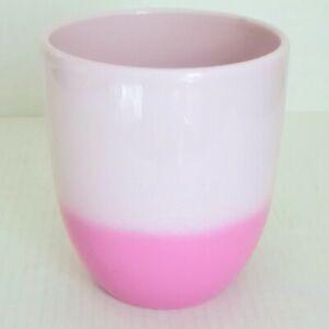 "Planter Pot Pink Ombre Plant Garden Indoor Outdoor 5.5"" Made in Germany"