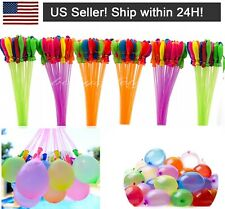 444 pcs 12 Bunch O Instant water Balloons,Self-Sealing,already tied waterballoon