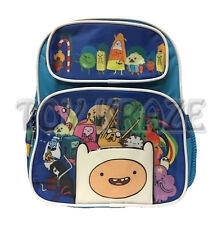 "ADVENTURE TIME TODDLER BACKPACK! BLUE GROUP BOYS SMALL SCHOOL BOOK BAG 12"" NWT"