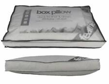 Luxury Duck Feather & Down Box Pillow 15% DOWN Ideal For Side & Back Sleepers
