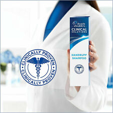 Head &Shoulders CLINICAL SOLUTIONS Anti-Dandruff Shampoo 7-DAY PROTECTION Proven
