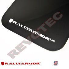 Rally Armor Mud Flaps 04-09 Mazda3 MazdaSpeed3 w White Logo MF9-UR-BLK/WH